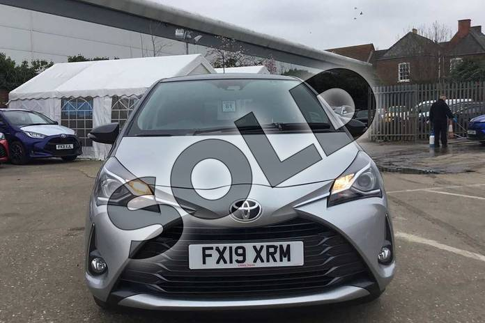 Image fifteen of this 2019 Toyota Yaris Hatchback 1.5 VVT-i Y20 5dr CVT (Bi-tone) in Tyrol Silver at Listers Toyota Boston