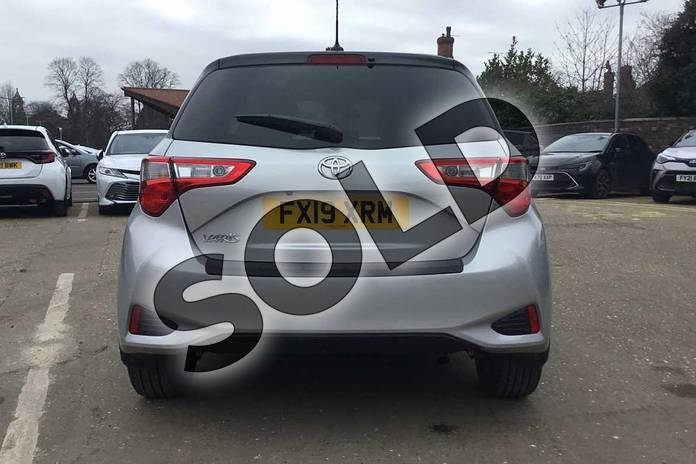 Image nineteen of this 2019 Toyota Yaris Hatchback 1.5 VVT-i Y20 5dr CVT (Bi-tone) in Tyrol Silver at Listers Toyota Boston