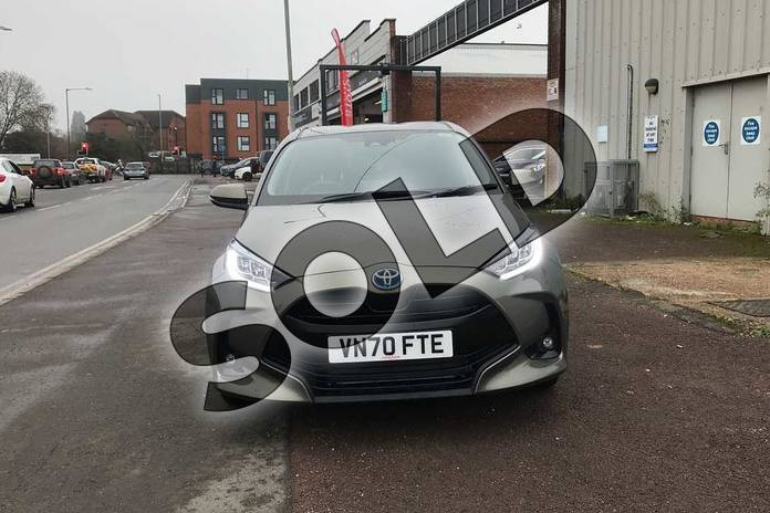 Image fifteen of this 2020 Toyota Yaris Hatchback 1.5 Hybrid Design 5dr CVT in Green at Listers Toyota Stratford-upon-Avon