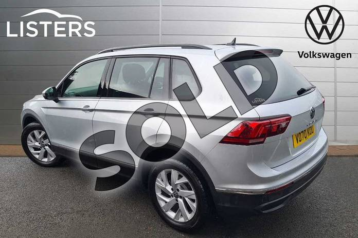 Image three of this 2021 Volkswagen Tiguan Estate 1.5 TSI 150 Life 5dr DSG in Silver at Listers Volkswagen Worcester