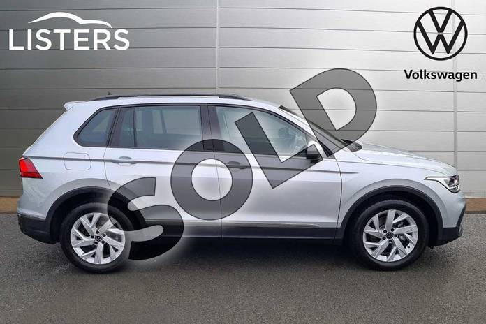 Image four of this 2021 Volkswagen Tiguan Estate 1.5 TSI 150 Life 5dr DSG in Silver at Listers Volkswagen Worcester