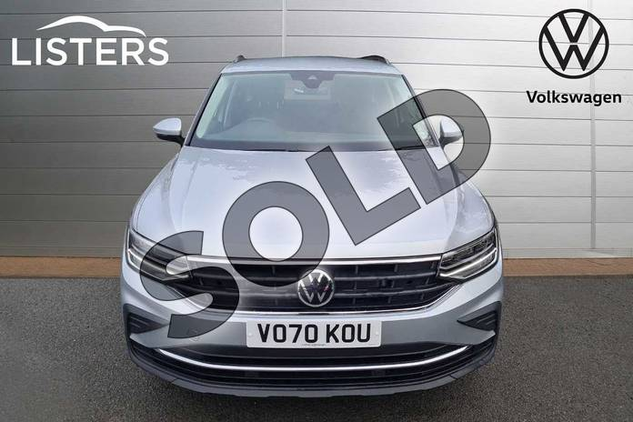 Image seven of this 2021 Volkswagen Tiguan Estate 1.5 TSI 150 Life 5dr DSG in Silver at Listers Volkswagen Worcester