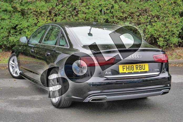Image three of this 2018 Audi A6 Saloon 1.8 TFSI S Line 4dr S Tronic in Myth Black Metallic at Worcester Audi