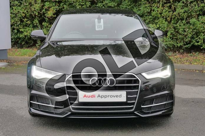 Image seven of this 2018 Audi A6 Saloon 1.8 TFSI S Line 4dr S Tronic in Myth Black Metallic at Worcester Audi