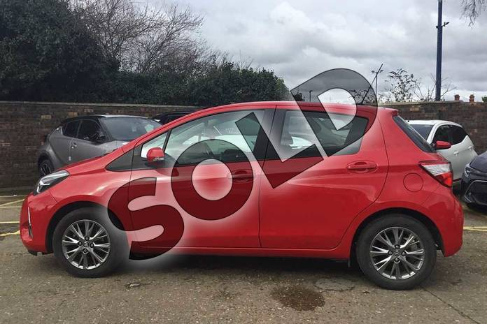 Image seventeen of this 2019 Toyota Yaris Hatchback 1.0 (72) VVT-i Icon 5dr in Chilli Red at Listers Toyota Boston