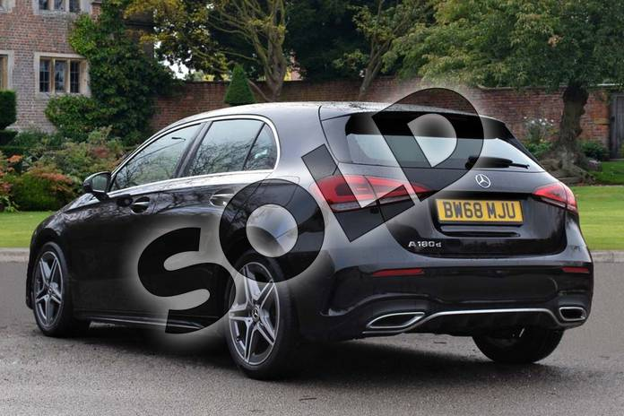 Image two of this 2019 Mercedes-Benz A Class Diesel Hatchback A180d AMG Line 5dr Auto in Cosmos Black Metallic at Mercedes-Benz of Lincoln