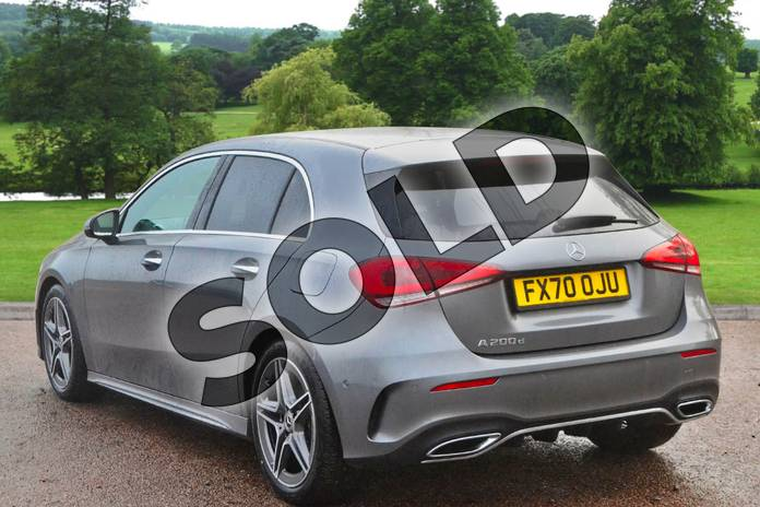 Image two of this 2021 Mercedes-Benz A Class Diesel Hatchback A200d AMG Line Premium 5dr Auto in Mountain Grey Metallic at Mercedes-Benz of Grimsby