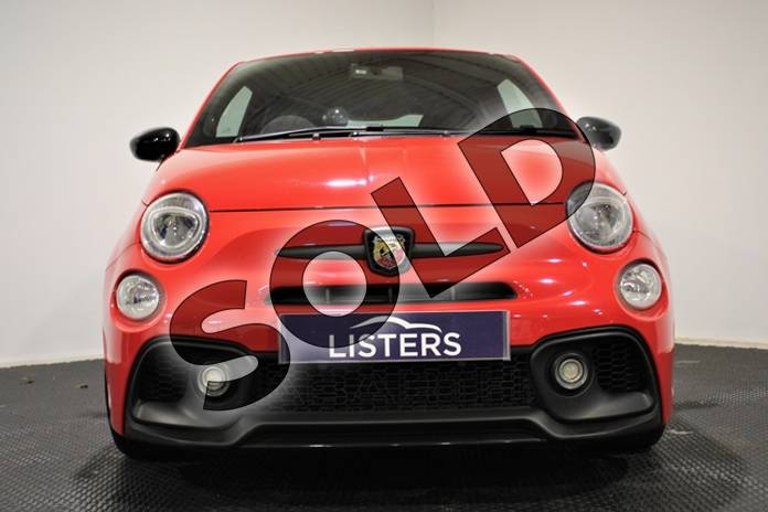 Image five of this 2018 Abarth 595 Hatchback 1.4 T-Jet 180 Competizione 3dr in Special solid - Abarth red at Listers U Stratford-upon-Avon