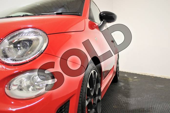 Image six of this 2018 Abarth 595 Hatchback 1.4 T-Jet 180 Competizione 3dr in Special solid - Abarth red at Listers U Stratford-upon-Avon