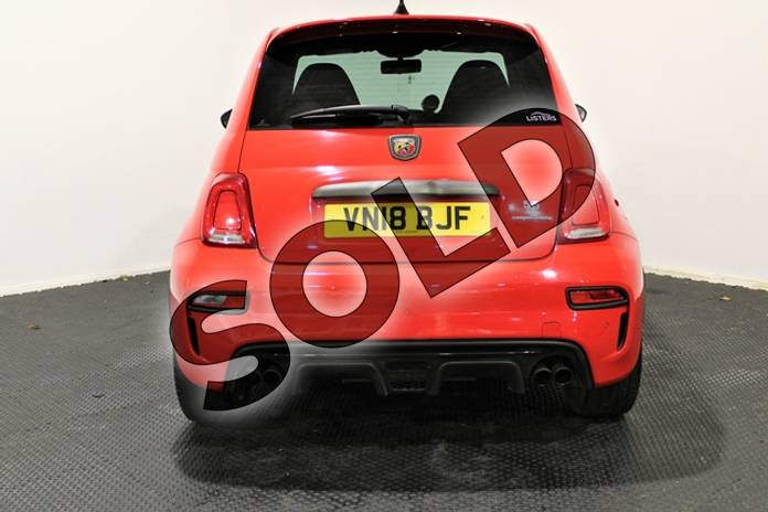 Image fourteen of this 2018 Abarth 595 Hatchback 1.4 T-Jet 180 Competizione 3dr in Special solid - Abarth red at Listers U Stratford-upon-Avon