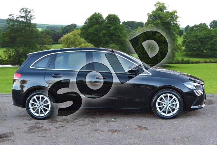 Image four of this 2021 Mercedes-Benz B Class Diesel Hatchback B200d Sport Executive 5dr Auto in Cosmos Black Metallic at Mercedes-Benz of Grimsby