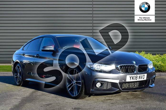 Picture of BMW 4 Series 430d M Sport 5dr Auto (Professional Media) in Mineral Grey