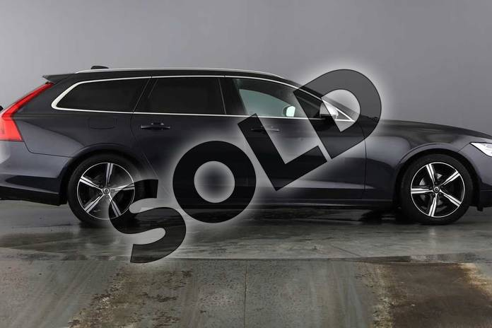 Image two of this 2018 Volvo V90 Diesel Estate 2.0 D4 R DESIGN 5dr Geartronic in Savile Grey at Listers Volvo Worcester