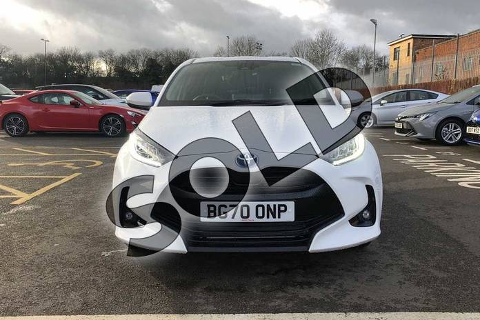 Image fifteen of this 2020 Toyota Yaris Hatchback 1.5 Hybrid Design 5dr CVT in White at Listers Toyota Coventry