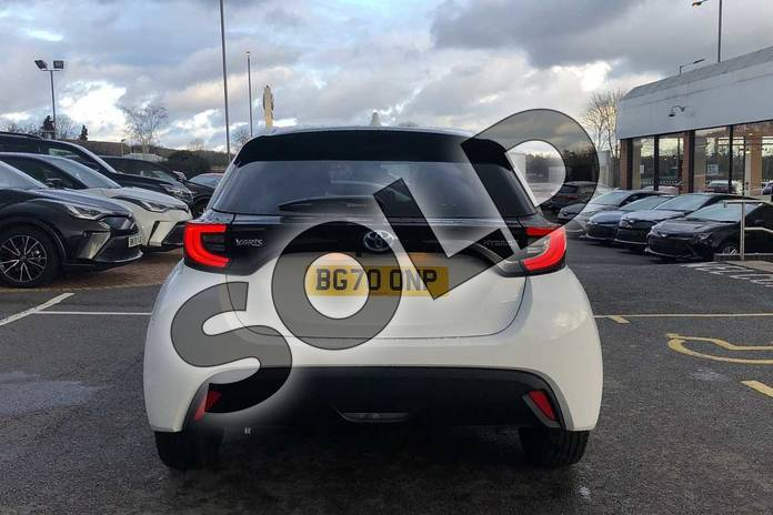 Image nineteen of this 2020 Toyota Yaris Hatchback 1.5 Hybrid Design 5dr CVT in White at Listers Toyota Coventry