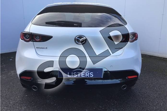 Image eight of this 2019 Mazda MAZDA3 Hatchback 2.0 Skyactiv G MHEV Sport Lux 5dr Auto in Solid - Arctic white at Listers U Solihull