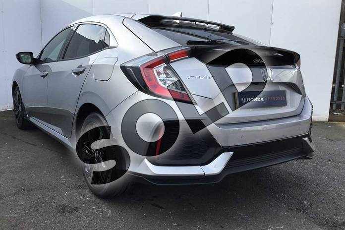 Image three of this 2018 Honda Civic Hatchback 1.0 VTEC Turbo EX 5dr in Lunar Silver M at Listers Honda Solihull