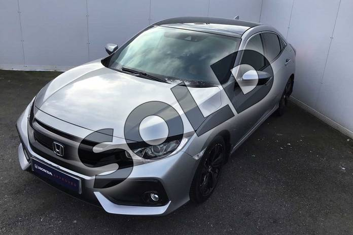 Image ten of this 2018 Honda Civic Hatchback 1.0 VTEC Turbo EX 5dr in Lunar Silver M at Listers Honda Solihull