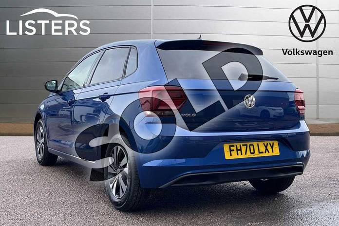 Image three of this 2021 Volkswagen Polo Hatchback 1.0 TSI 95 Match 5dr DSG in Reef Blue at Listers Volkswagen Loughborough