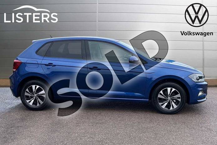 Image four of this 2021 Volkswagen Polo Hatchback 1.0 TSI 95 Match 5dr DSG in Reef Blue at Listers Volkswagen Loughborough