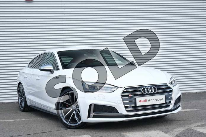 Picture of Audi A5 S5 Quattro 5dr Tiptronic in Ibis White