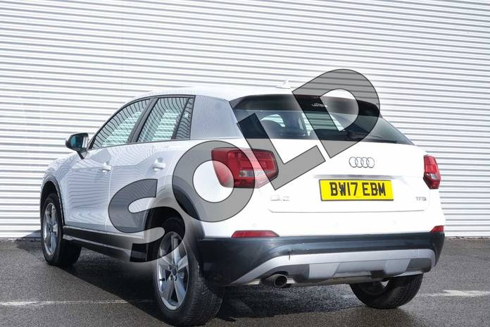 Image three of this 2017 Audi Q2 Estate 1.0 TFSI Sport 5dr in Ibis White at Coventry Audi