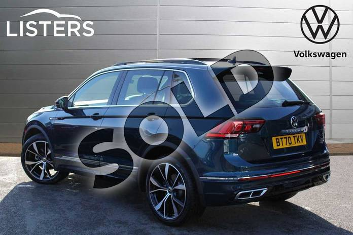 Image three of this 2021 Volkswagen Tiguan 2.0 TDI R-Line 5dr DSG in Nightshade Blue at Listers Volkswagen Nuneaton