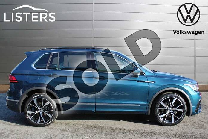 Image four of this 2021 Volkswagen Tiguan 2.0 TDI R-Line 5dr DSG in Nightshade Blue at Listers Volkswagen Nuneaton