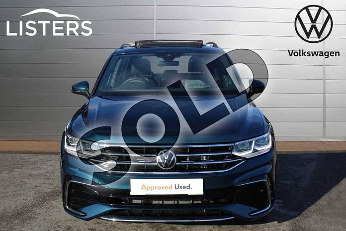 Image seven of this 2021 Volkswagen Tiguan 2.0 TDI R-Line 5dr DSG in Nightshade Blue at Listers Volkswagen Nuneaton