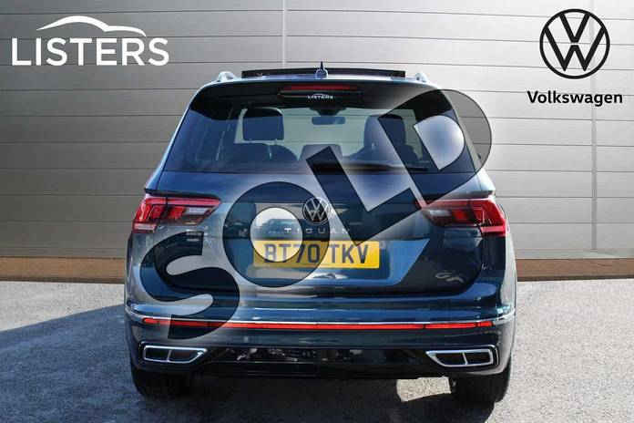 Image nine of this 2021 Volkswagen Tiguan 2.0 TDI R-Line 5dr DSG in Nightshade Blue at Listers Volkswagen Nuneaton