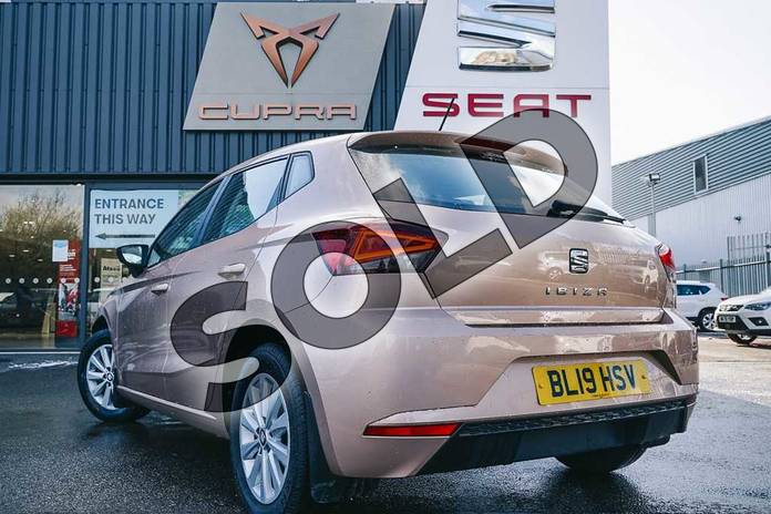 Image three of this 2019 SEAT Ibiza Hatchback 1.0 SE (EZ) 5dr in Gold at Listers SEAT Coventry