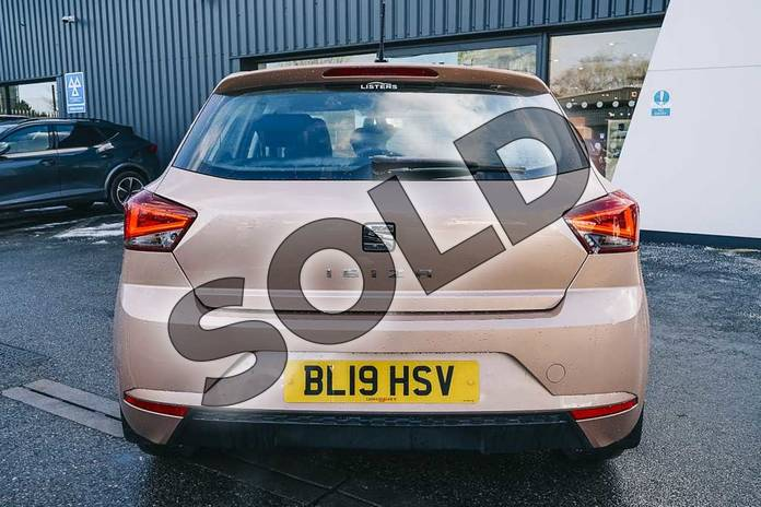 Image ten of this 2019 SEAT Ibiza Hatchback 1.0 SE (EZ) 5dr in Gold at Listers SEAT Coventry