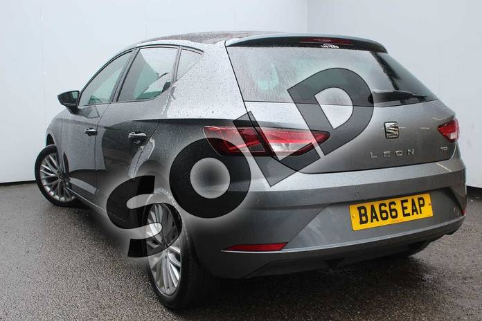 Image three of this 2017 SEAT Leon Diesel Hatchback 1.6 TDI SE Dynamic Technology 5dr in MONSOON GREY METALLIC at Listers SEAT Worcester