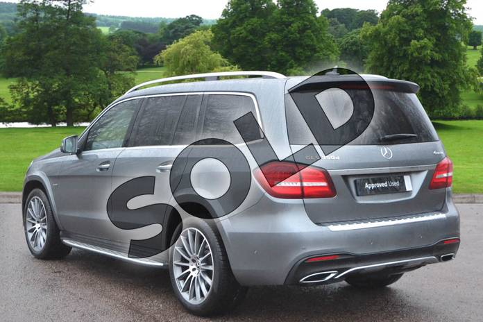 Image two of this 2019 Mercedes-Benz GLS Estate Special Edition GLS 350d 4Matic Grand Edition 5dr 9G-Tronic in selenite grey metallic at Mercedes-Benz of Grimsby