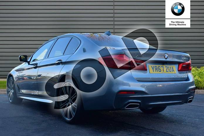 Image two of this 2017 BMW 5 Series Diesel Saloon 530d xDrive M Sport 4dr Auto in Bluestone at Listers Boston (BMW)
