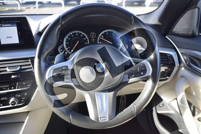 Image five of this 2017 BMW 5 Series Diesel Saloon 530d xDrive M Sport 4dr Auto in Bluestone at Listers Boston (BMW)