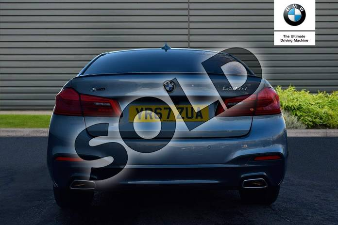 Image fifteen of this 2017 BMW 5 Series Diesel Saloon 530d xDrive M Sport 4dr Auto in Bluestone at Listers Boston (BMW)