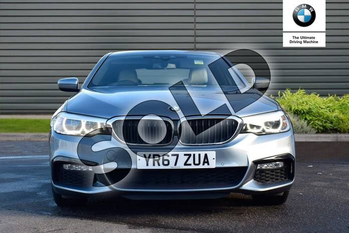 Image sixteen of this 2017 BMW 5 Series Diesel Saloon 530d xDrive M Sport 4dr Auto in Bluestone at Listers Boston (BMW)