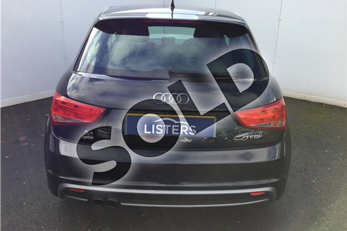 Image three of this 2013 Audi A1 Sportback 1.4 TFSI S Line 5dr in Metallic - Mythos black at Listers U Solihull