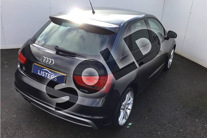 Image five of this 2013 Audi A1 Sportback 1.4 TFSI S Line 5dr in Metallic - Mythos black at Listers U Solihull
