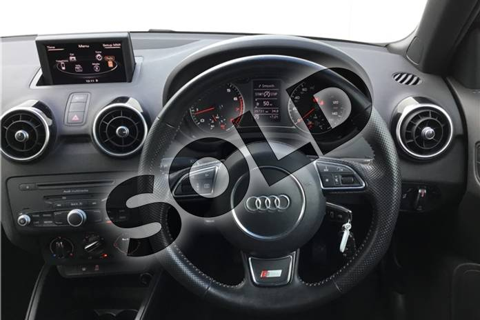 Image ten of this 2013 Audi A1 Sportback 1.4 TFSI S Line 5dr in Metallic - Mythos black at Listers U Solihull