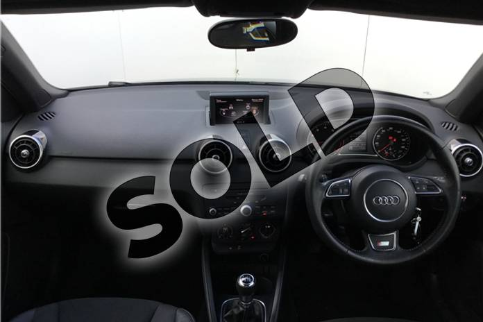 Image eleven of this 2013 Audi A1 Sportback 1.4 TFSI S Line 5dr in Metallic - Mythos black at Listers U Solihull
