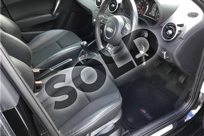 Image fifteen of this 2013 Audi A1 Sportback 1.4 TFSI S Line 5dr in Metallic - Mythos black at Listers U Solihull