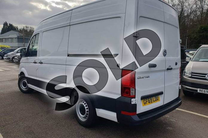 Image three of this 2019 Volkswagen Crafter CR35 MWB Diesel 2.0 TDI 177PS Trendline High Roof Van in White at Listers Volkswagen Van Centre Coventry