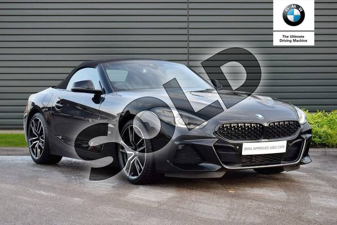 Picture of BMW Z4 sDrive 20i M Sport 2dr Auto in Black Sapphire metallic paint