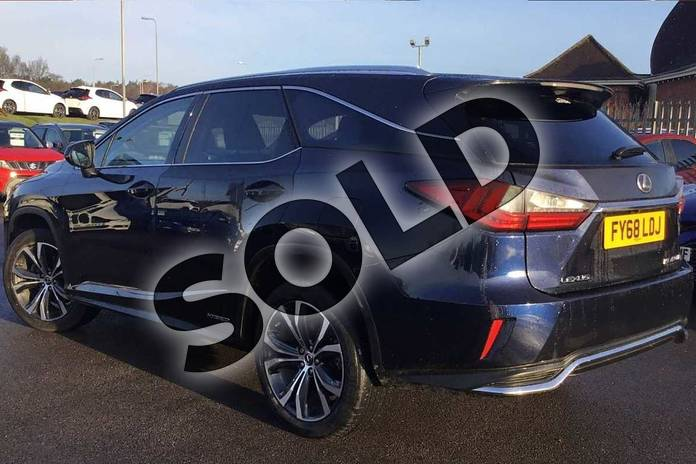 Image two of this 2018 Lexus RX Estate 450h L 3.5 Luxury 5dr CVT in Deep Blue at Lexus Lincoln