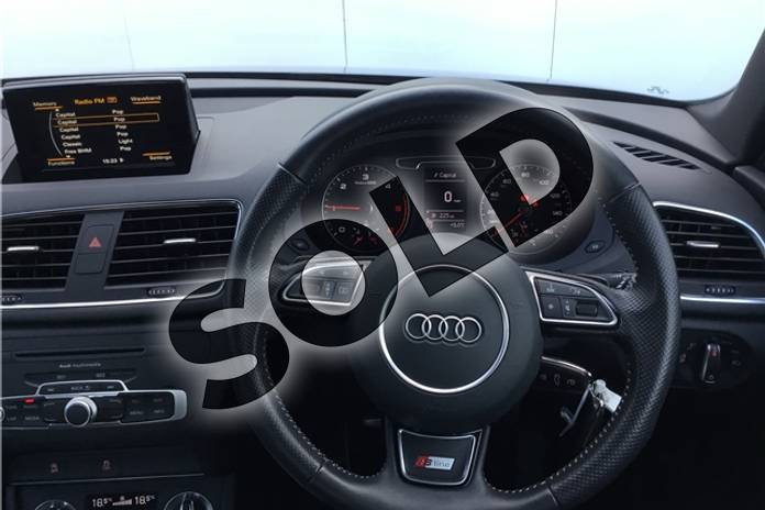 Image twelve of this 2014 Audi Q3 Diesel Estate 2.0 TDI (177) Quattro S Line 5dr S Tronic in Pearl - Daytona grey at Listers U Solihull