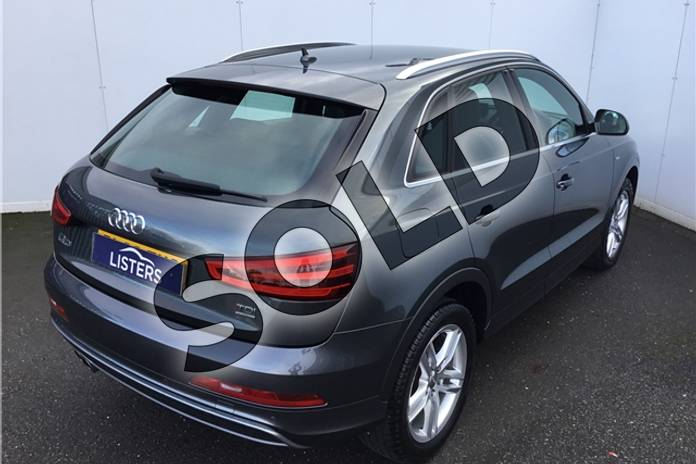 Image seven of this 2014 Audi Q3 Diesel Estate 2.0 TDI (177) Quattro S Line 5dr S Tronic in Pearl - Daytona grey at Listers U Solihull