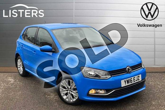 Picture of Volkswagen Polo 1.2 TSI SE 5dr in Mayan Blue