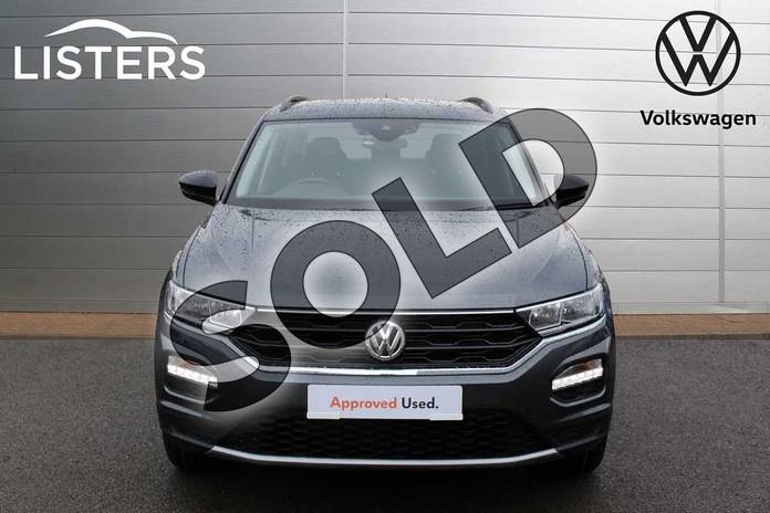 Image seven of this 2019 Volkswagen T-Roc Hatchback 1.5 TSI EVO SE 5dr DSG in Indium Grey Black Roof at Listers Volkswagen Nuneaton